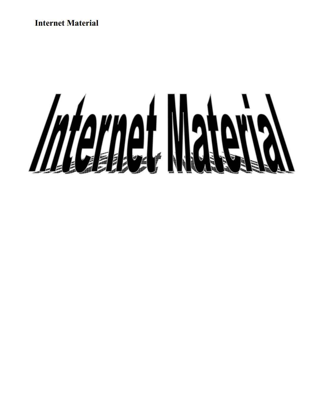 كتاب الإنترنت للمبتدئين